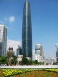 Центр международных финансов Гуанчжоу Стоковые Фото
