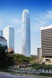 Центр международных финансов Стоковое Фото