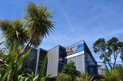 Центр Новая Зеландия открытия острова козы морской Стоковое фото RF
