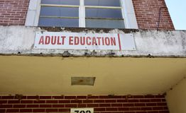 Центр обучения взрослых Стоковая Фотография RF