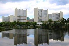 Центр Организации Объединенных Наций международный в вене Стоковое Фото