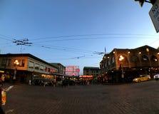 Центр открытого рынка в Сиэтл стоковая фотография