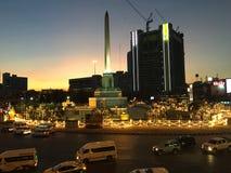 Центр памятника победы Стоковые Изображения RF