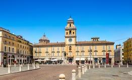 Центр Пармы Италия стоковое изображение