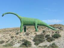 Центр палеонтологии Del Рио Villar Гористые местности Сории Сория Ла Mancha Кастили Испания Стоковые Изображения