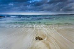 Центр песка залива Jervis моря Стоковое Изображение RF