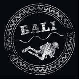 Центр пикирования Бали логотипа возможно Стоковые Фото