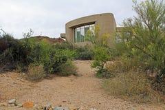 Центр посетителей для национального парка Saguaro Стоковая Фотография RF