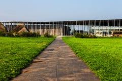 Центр ` посетителей Стоунхенджа стоковое изображение rf