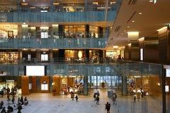 Центр роскошных магазинов в токио Стоковая Фотография