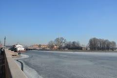 Центр Санкт-Петербурга Стоковое Изображение RF