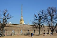 Центр Санкт-Петербурга Стоковые Изображения RF