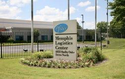 Центр снабжения Pfizer Мемфиса Стоковое Изображение
