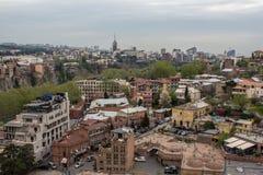 Центр Тбилиси Georgia 2018 стоковая фотография rf