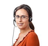 центр телефонного обслуживания агента Стоковая Фотография RF