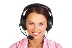 центр телефонного обслуживания стоковое изображение