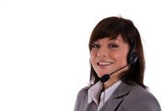 центр телефонного обслуживания Стоковые Фотографии RF