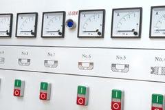 Центр управления сигнала тревоги стоковое изображение
