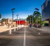 Центр улицы Баня-Лука Стоковое фото RF