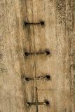центр шлюпки предпосылки шьет древесину Стоковое Изображение