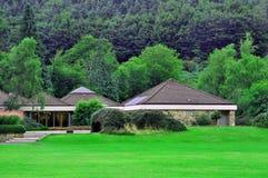 Центр для посетителей леса Стоковое Изображение