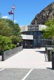 Центр для посетителей запруды Билла буйвола Стоковая Фотография