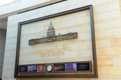 Центр для посетителей капитолия США, DC Вашингтона, США Стоковые Изображения