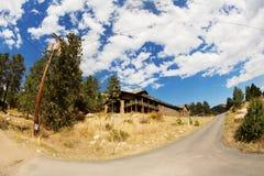 Центр для посетителей Fall River Стоковая Фотография RF
