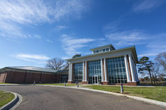 Центр для экологичности и природные ресурсы в университете Alcorn Стоковое Изображение RF