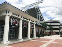 Центр Bignon Gameday на стадионе Williams Brice в Колумбии, Южной Каролине стоковые фотографии rf