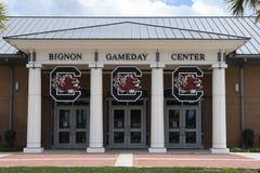 Центр Bignon Gameday на стадионе Williams Brice в Колумбии, Южной Каролине стоковая фотография