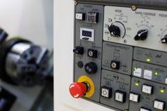 Центр CNC поворачивая Стоковое Изображение