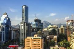 Центр Costanera - Сантьяго - Чили Стоковые Фотографии RF