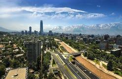 Центр Costanera - Сантьяго - Чили Стоковые Изображения RF