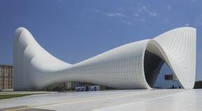 Центр Heydar Aliyev в Баку стоковая фотография rf