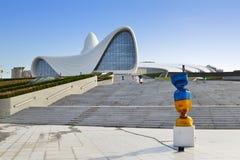 Центр Heydar Aliyev Стоковое Изображение