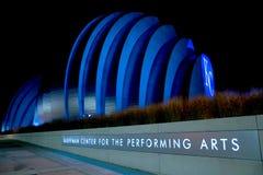 Центр Kauffman исполнительских искусств Стоковые Изображения