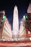 Центр New York City Рокефеллер стоковая фотография rf