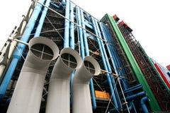 центр paris pompidou Стоковое Изображение RF