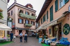 Центр Stresa, Италии Стоковое Изображение