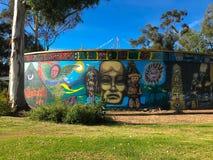 Центр WorldBeat в парке бальбоа, Сан-Диего, Калифорнии Стоковые Изображения RF