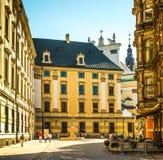 Центр Wroclaw - Польши исторический Стоковые Изображения RF