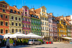 Центр Wroclaw - Польши исторический Стоковые Фото