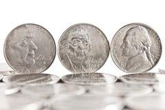 центы 5 стоковое изображение
