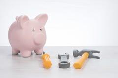 Цены делать домашние реновации Стоковые Изображения RF