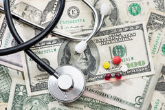 Цены здравоохранения Стоковые Фото