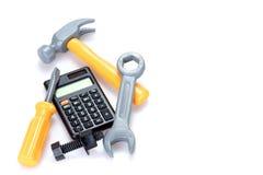 Цены или реновация и улучшения дома стоковые фото