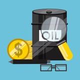 Цены на нефть Стоковое Изображение