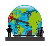 Цены на нефть Стоковая Фотография