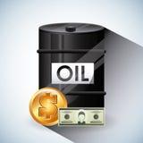 Цены на нефть Стоковые Изображения RF
